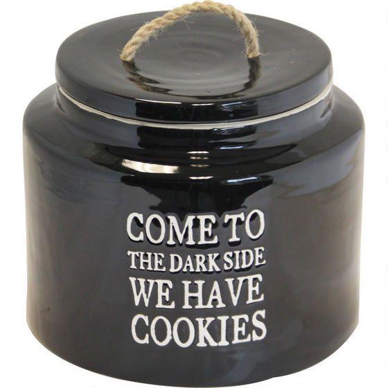 The Dark Side Storage Jar