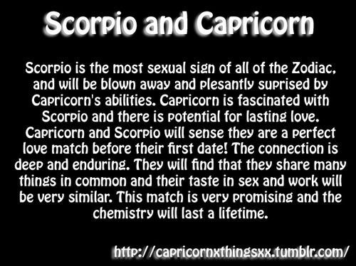 Compatibility capricorn and scorpio