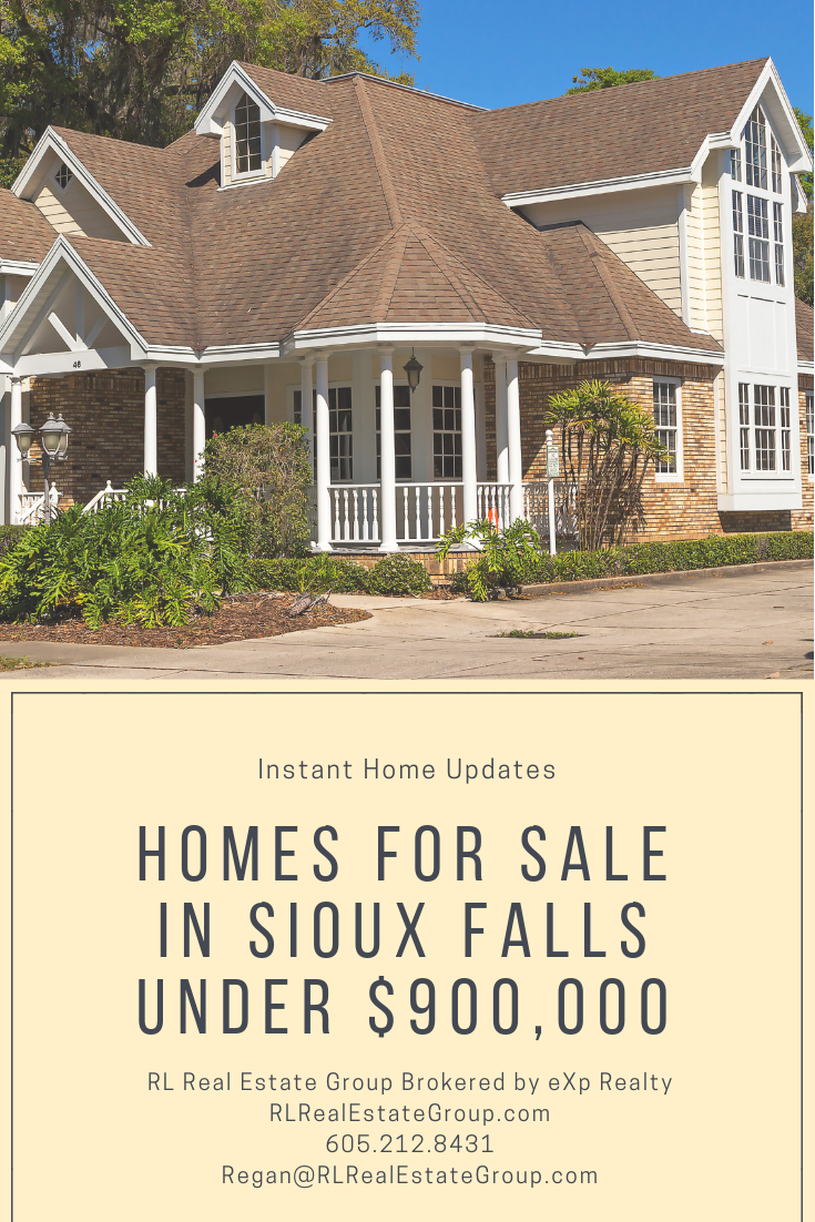 Sioux Falls Homes Under 900k Autumn Home Real Estate Sioux Falls