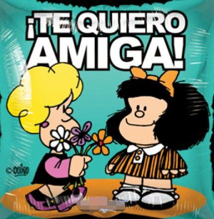 Tarjetas amistad mafalda