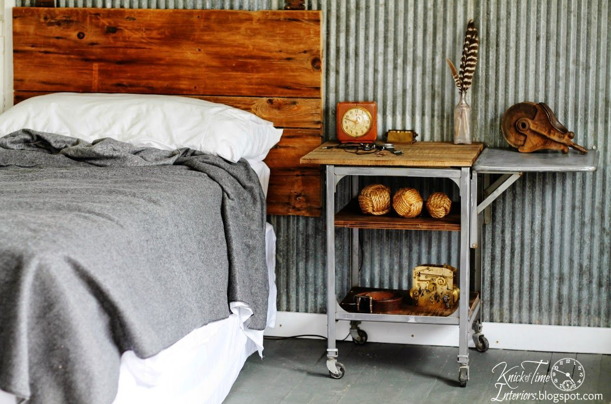 Stand Gets an Industrial Rustic Makeover – Before and After Typewriter Stand Gets an Industrial Rustic Makeover - Before and After - Knick of TimeTypewriter Stand Gets an Industrial Rustic Makeover - Before and After - Knick of Time