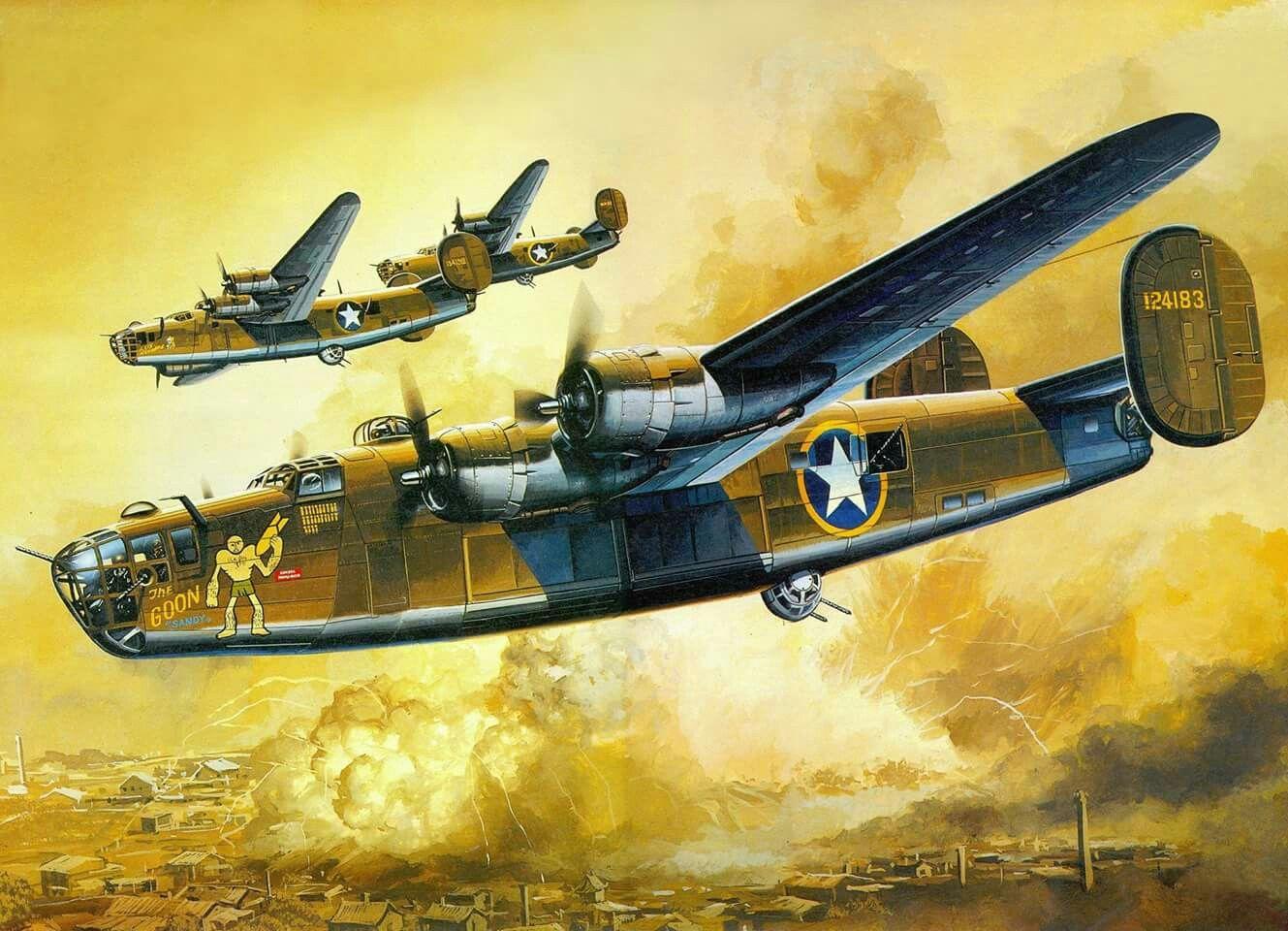 B-24D liberator   ww2 Art   Pinterest   Aviation art, Aviation and ...