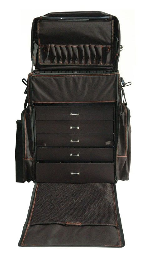 OnDgo 306 Soft Travel Case with Drawers and Wheels