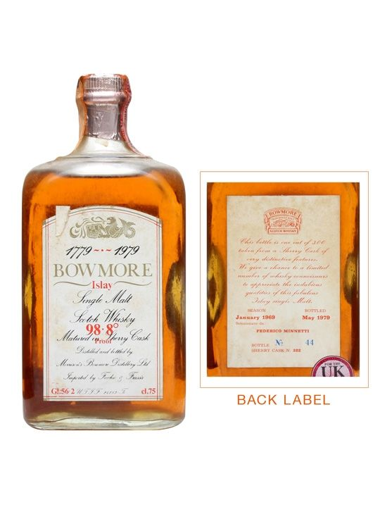 Bowmore 1969 / Bicentenary / Cask #322 Scotch Whisky : The Whisky Exchange