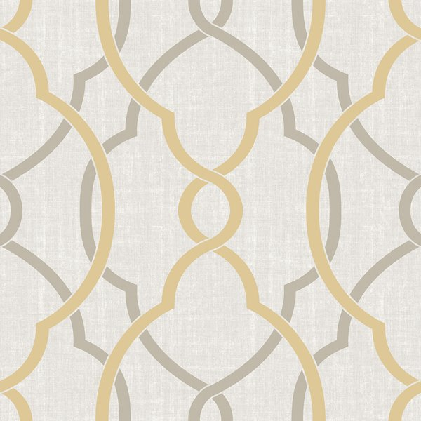 Nuwallpaper Sausalito Sticker Wallpaper 20 5 X 216 Yellow Nu1695 Rona Nuwallpaper Peel And Stick Wallpaper Wallpaper Roll