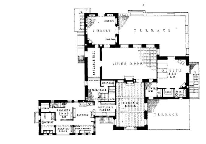 Mexican Hacienda Floor Plans Home Floor Plans Unique House Plans Floor Plans House Floor Plans