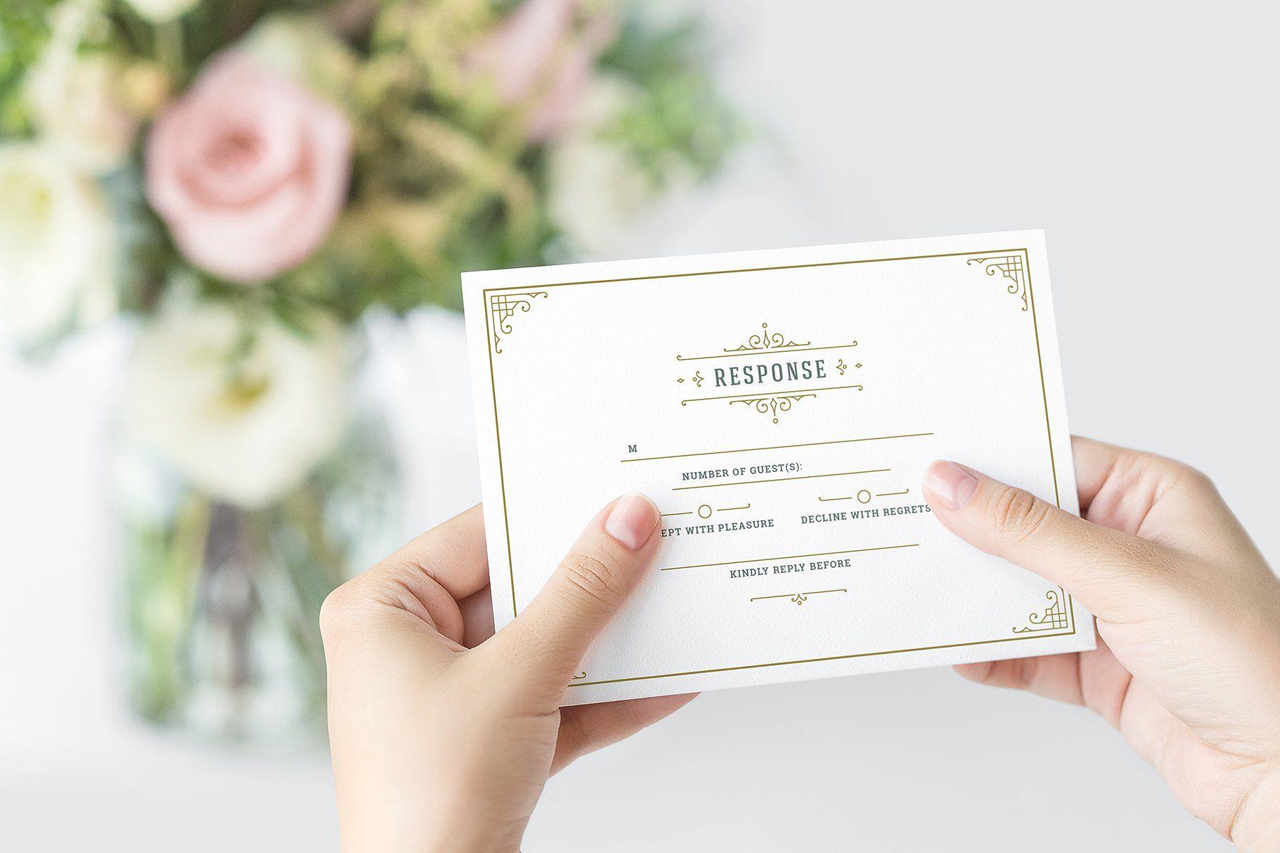 3028567d457c330f397593579ad8226d: Vintage Flourish Wedding Invitations Diy At Reisefeber.org