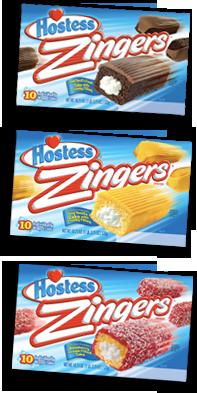 Zingers, my favorite is Raspberry & Coconut | Goodbye