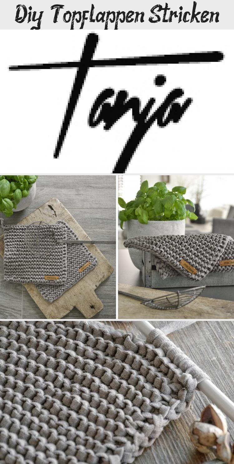 Photo of Tolles Projekt auch für Anfänger: gestrickte Topflappen! #diy #knit … – St ….