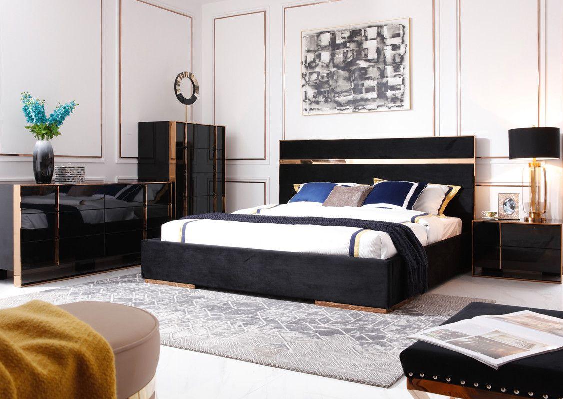 13 Awesome Ideas How To Craft Modern Bedroom Sets With Images Modern Bedroom Furniture Sets Modern Bedroom Set Black Velvet Bed