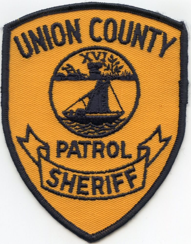 Old Vintage Union County Tennessee Tn Patrol Sheriff Police Patch Police Patches