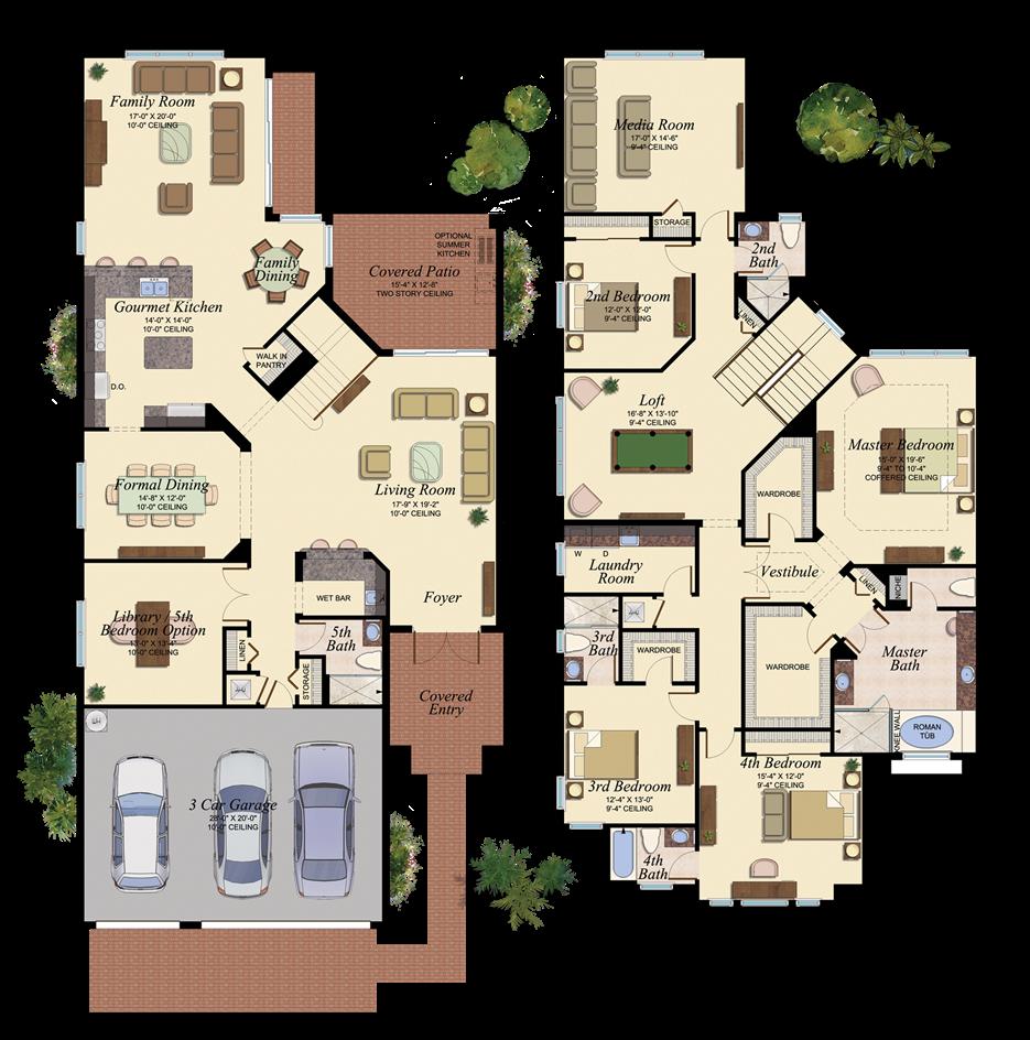38 Architecture Colored Floor Plan Ideas Floor Plans House Floor Plans House Plans