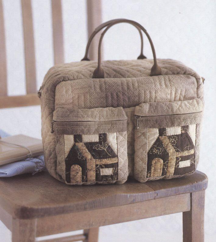 How to make tutorial home house bag handbag purse women sewing how to make tutorial home house bag handbag purse women sewing quliting quilt patchwork applique pdf pattern publicscrutiny Image collections