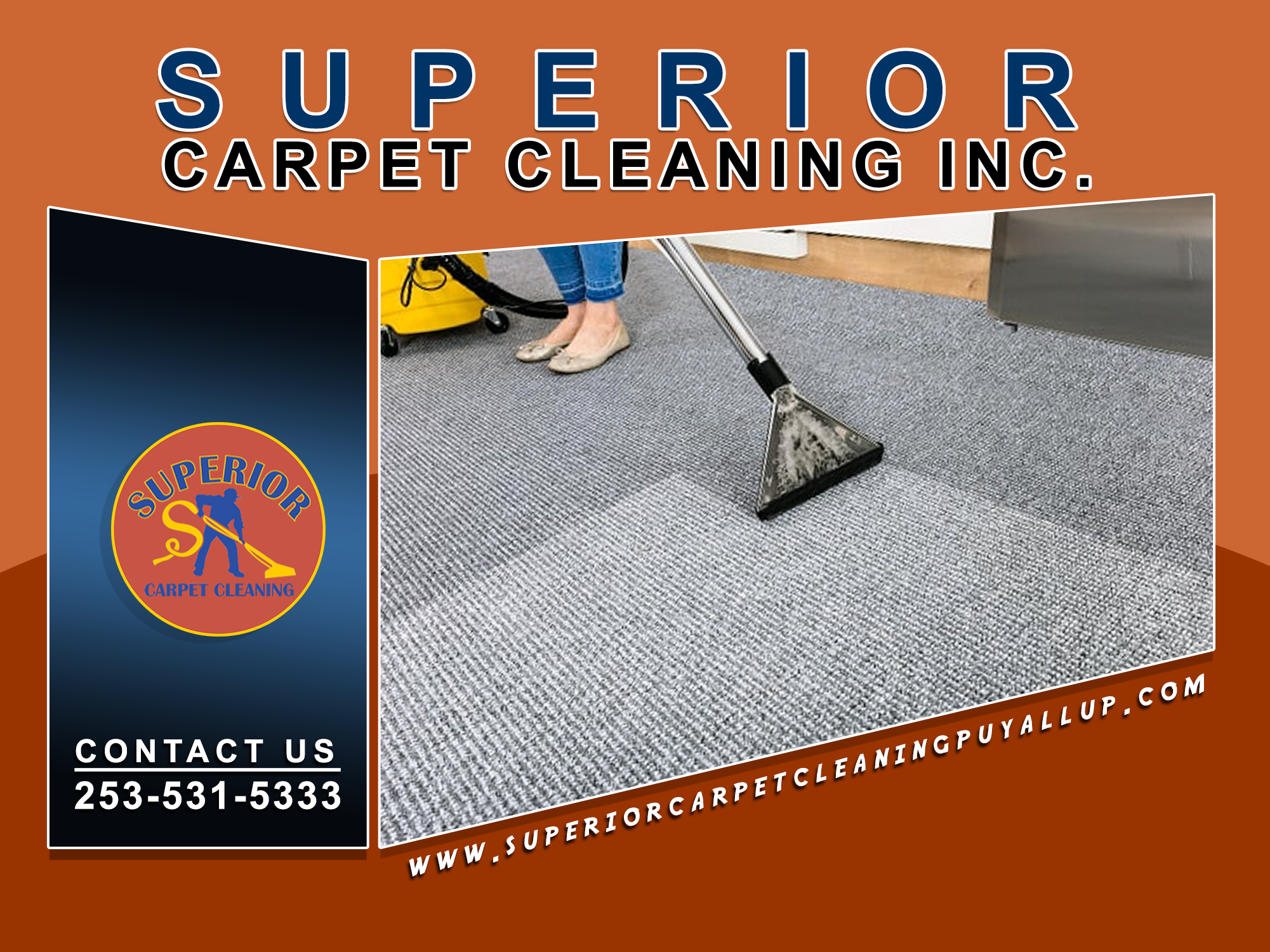 We provide professional carpet cleaning which we ensure to