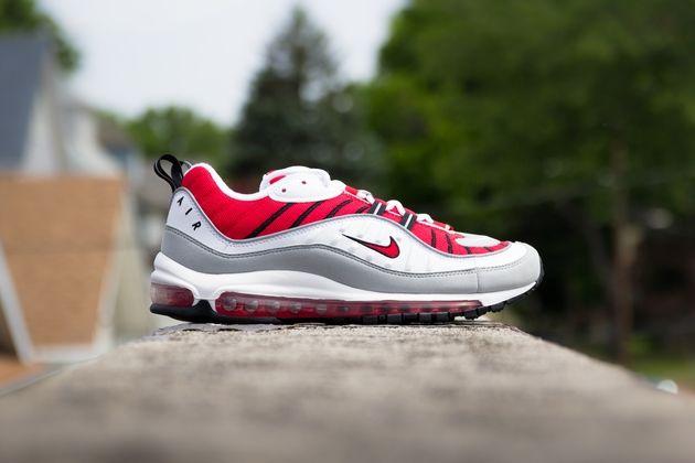 Nike Air Max 98 - University Red / University Red - White ...