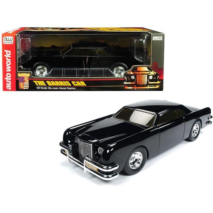 The Barris Car Black Sparkle 1/18 Diecast Model Car By Autoworld : Target