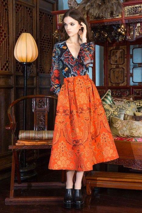 21 Looks with Fashion Gesigner Alice  plus  Olivia Glamsugar.com Alice  plus  Olivia   Pre-Fall 2015
