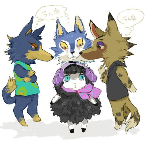 And Where Hungry like wolves | Animal crossing fan art ...