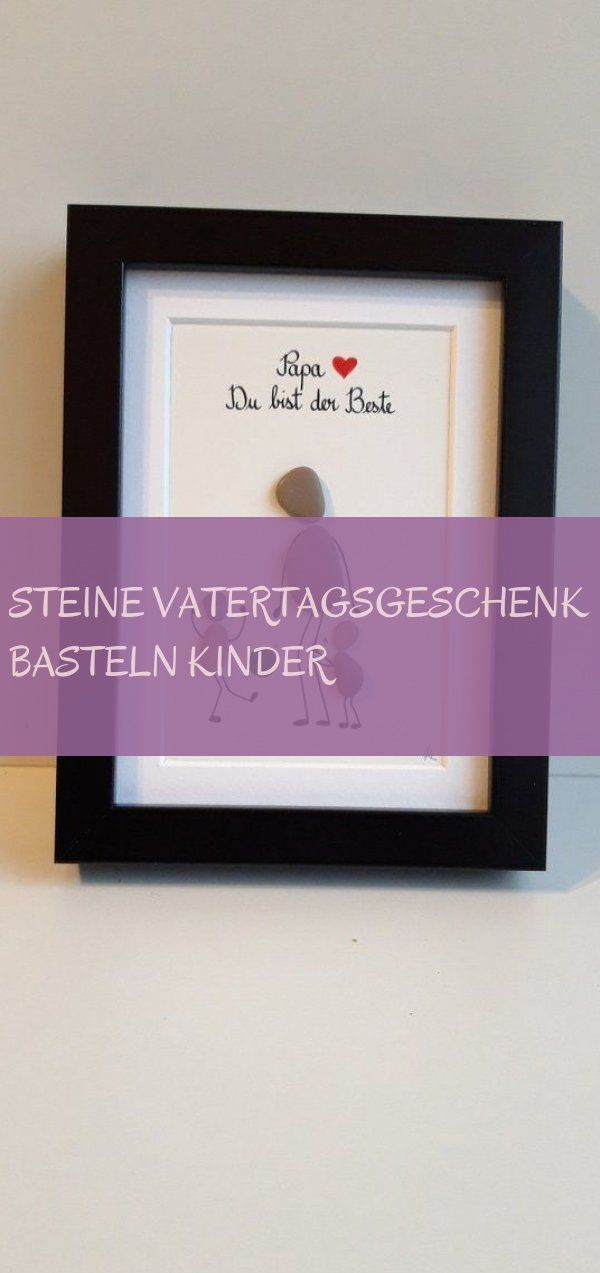 Stones Father's Day Gift Crafting Kids 09.25.2019 -