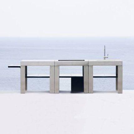 simply smart summer kitchen cuisine exterieur evier. Black Bedroom Furniture Sets. Home Design Ideas
