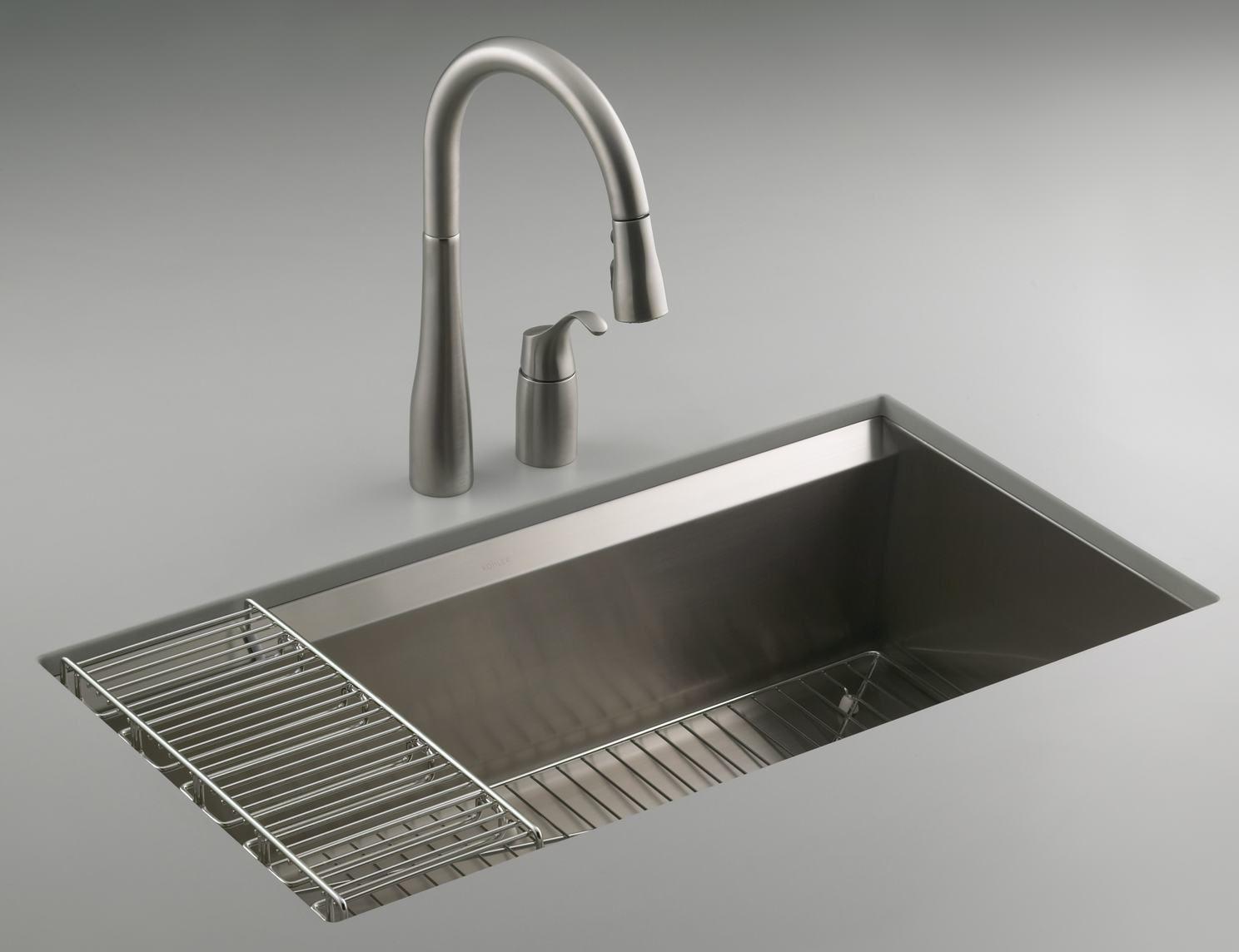 Kohler Kitchen Sinks And Amazing Shape House