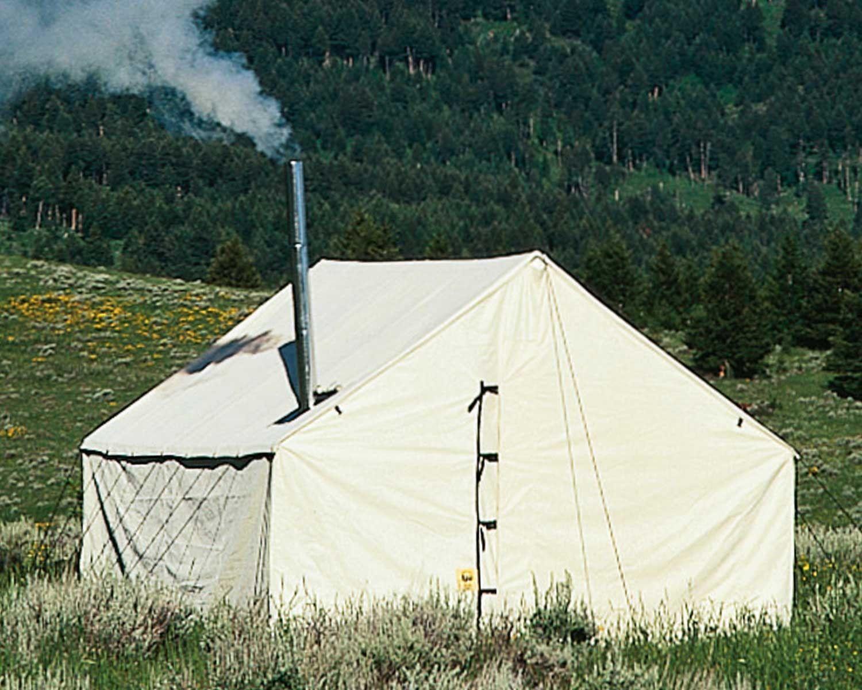delightful wall tent idaho #3: 12x14 Montana Custom Canvas Wall Tent