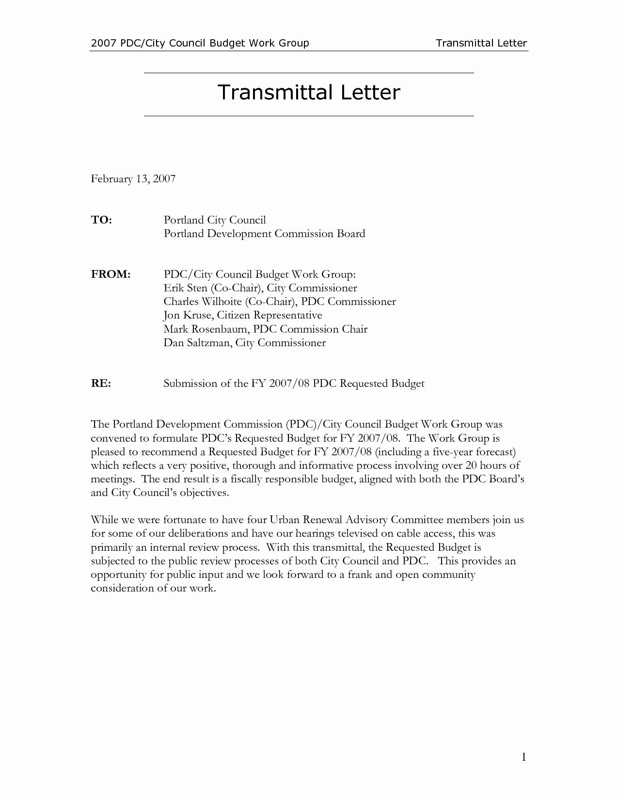 Letter Of Transmittal Template Construction Inspirational Letter Transmittal Template Construction Collec Lettering Printable Letter Templates Letter Templates Letter to city council template