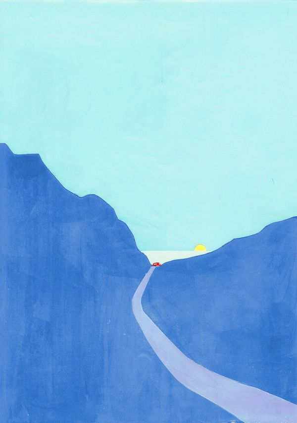 50 Happening Modern Minimalist Art Paintings Ideas Arte Paisajes Obra Minimalista Ilustracion De Paisaje