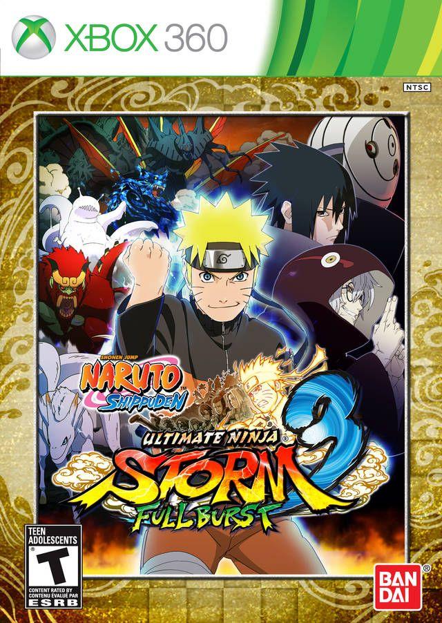Naruto Ultimate Ninja Storm 3 Full Burst Naruto Games Naruto Shippuden Naruto
