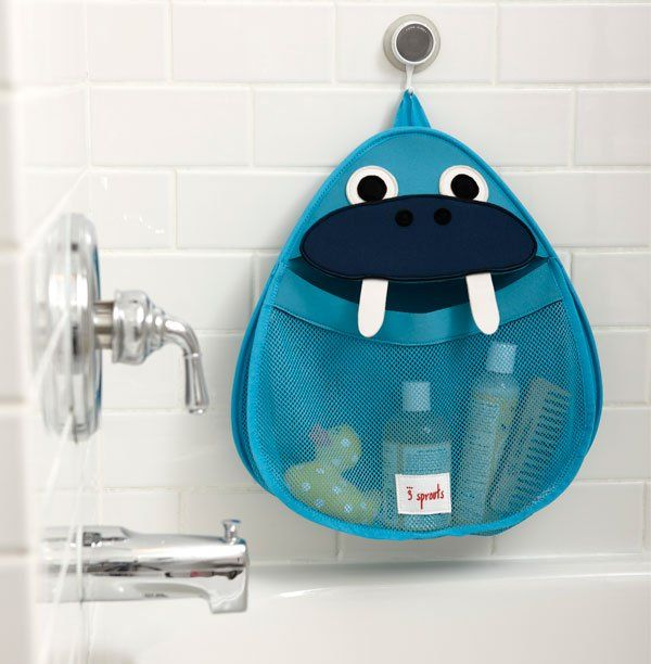 Bathroom Toy Storage Ideas: Organised Bath Time Fun With 3 Sprouts Bath Storage