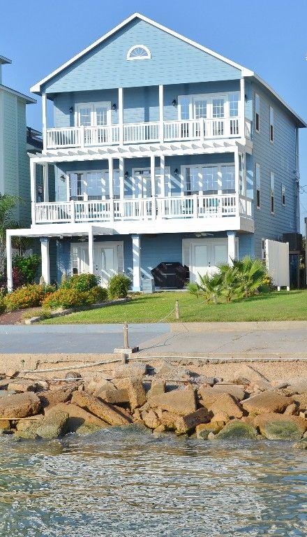 Kemah Vacation Al Vrbo 436132 4 Br Gulf Coast House In Tx Beautiful Bay Front Home Adjacent To Por Boardwalk
