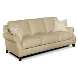 Cream Colored Leather Sofa | Nebraska Furniture Mart