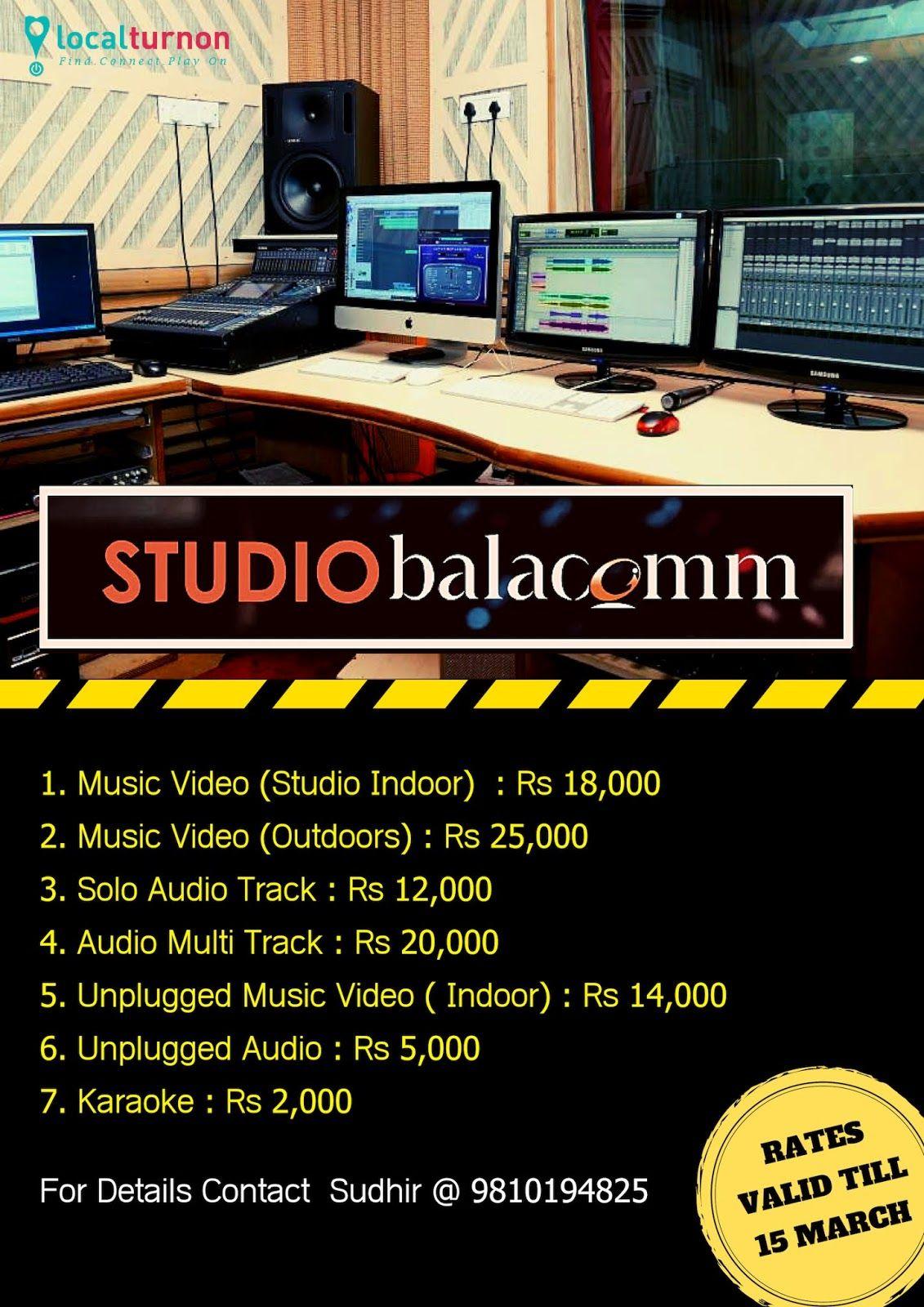 Best music recording studio in delhi music recording