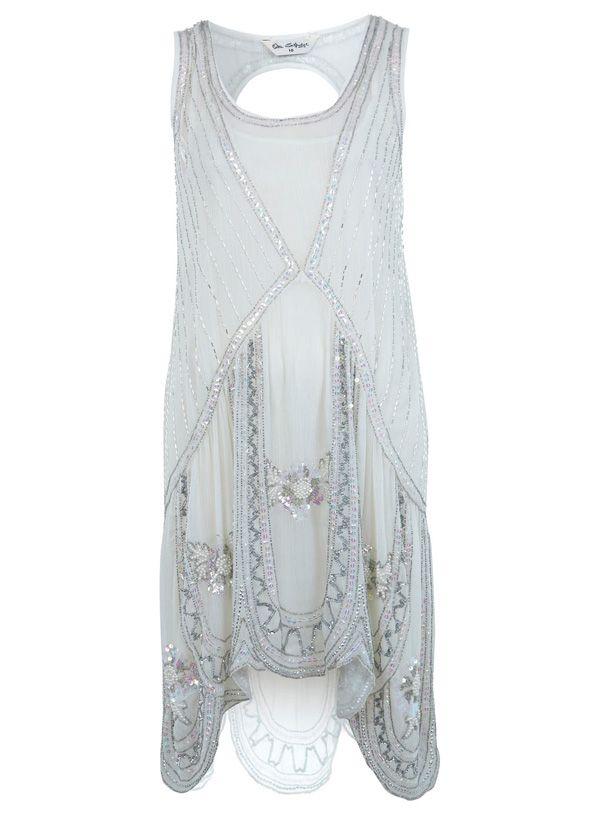 3. Embellished Flapper Dress