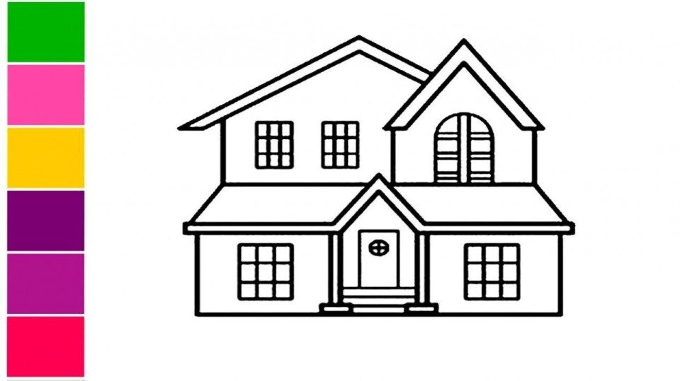 11 Common Myths About House Drawing Easy Simple House Drawing