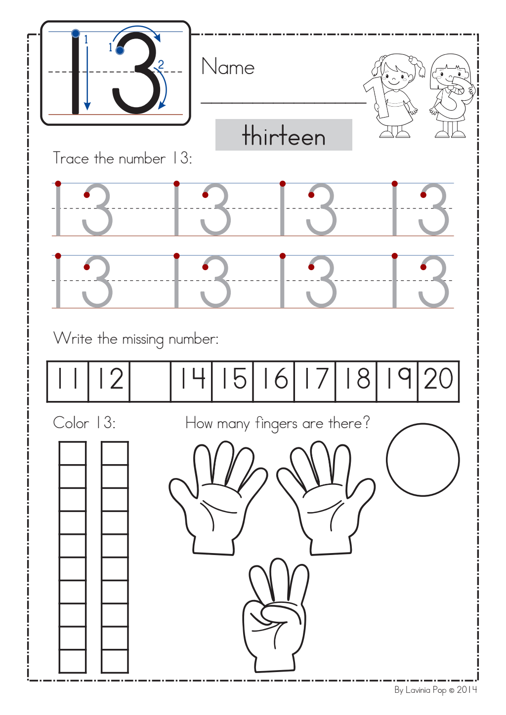 Number Worksheet