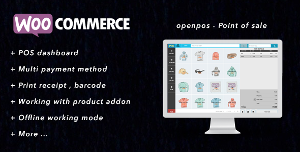 Openpos - A complete POS plugins for Woocomerce | tech | Point of
