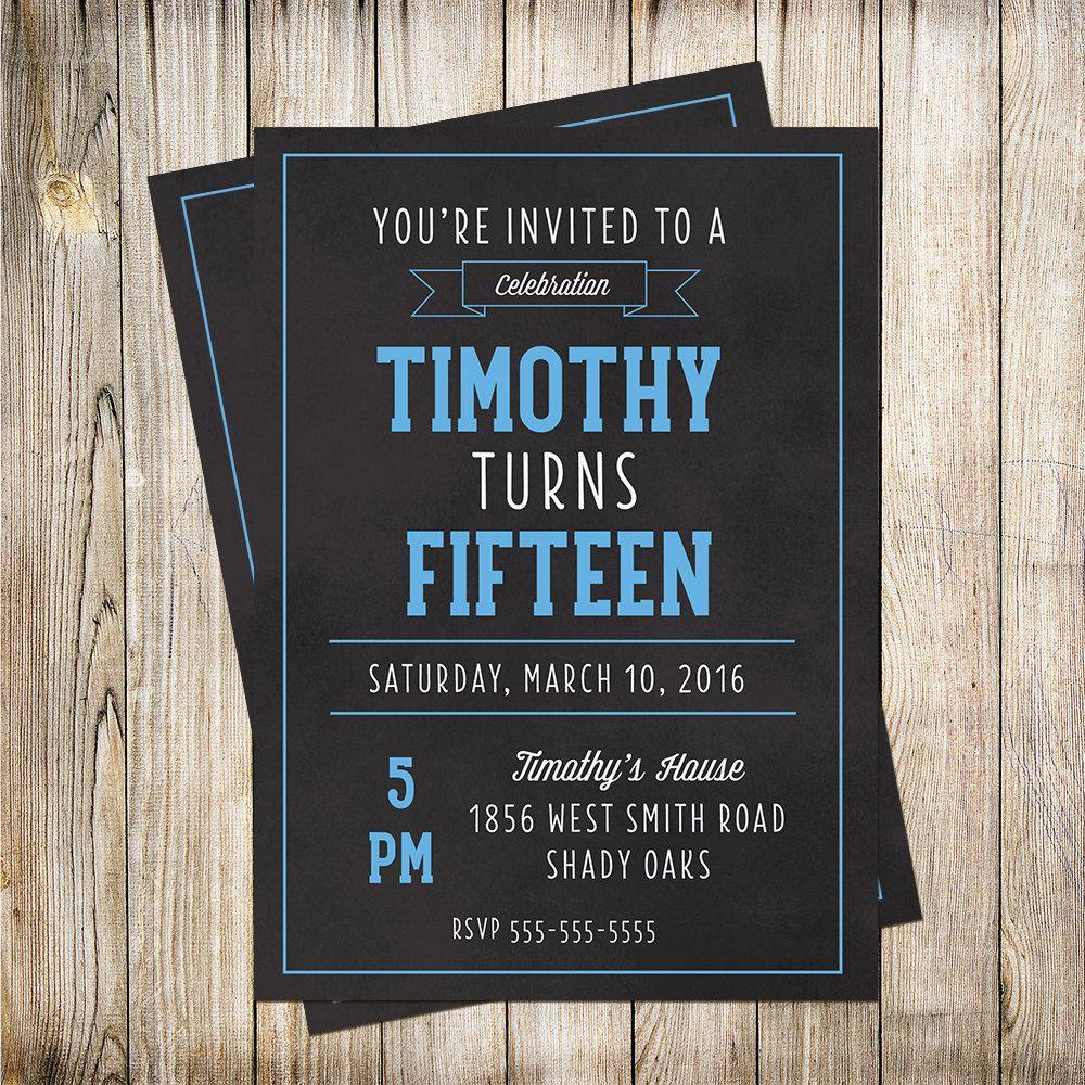 Teen Invitations 20