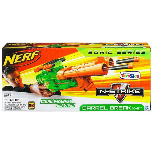 Nerf N-Strike Barrel Break IX-2 Blaster - Sonic Series - Hasbro -