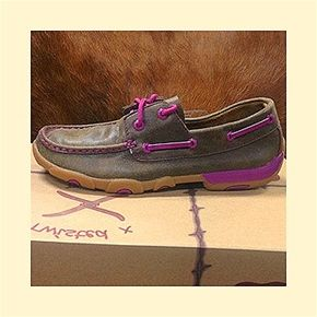 e1bb641b6c4 Twisted X Brown Driving Moc with Purple Laceing | • Shoes • | Shoes ...