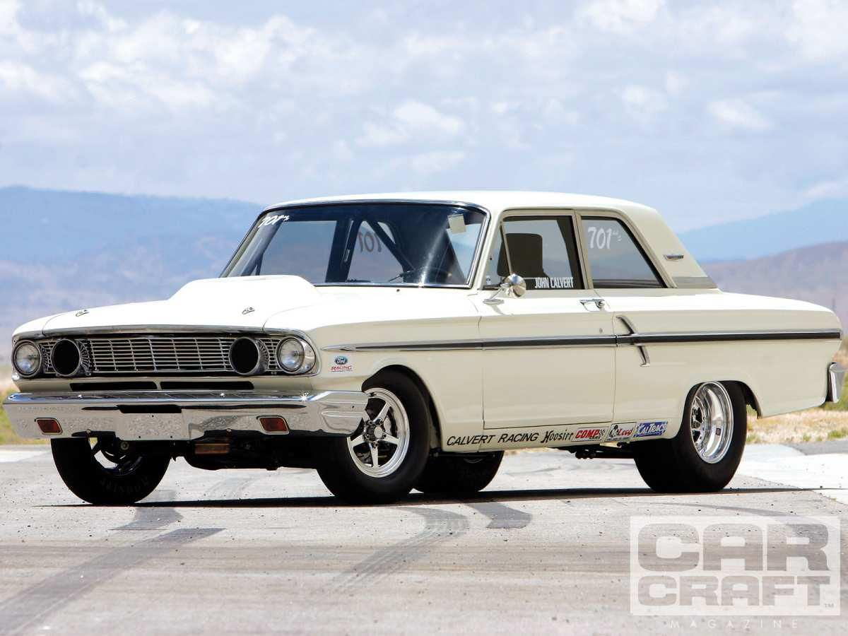 1964 ford fairlane thundetbolt factory built