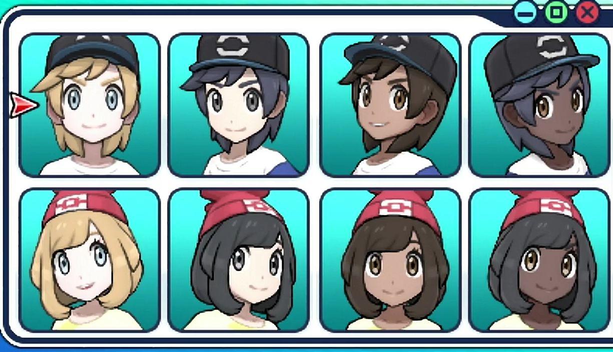 Pokemon X Y Trainers Frisuren Madchen Coiffure