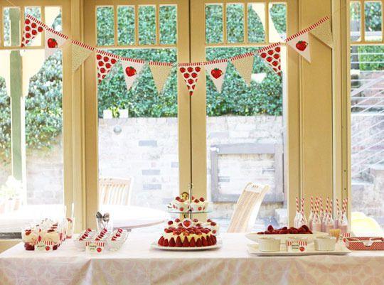 Best Kids Parties Strawberries \u2014 My Party Themed parties