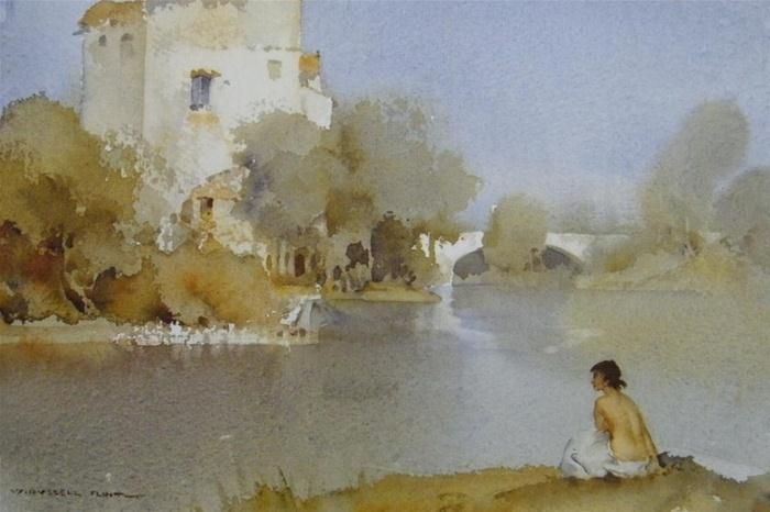 William Russell Flint The Mill St Martin D Ardeche William