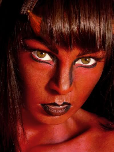 Pin by Gaga on Beauty | Pinterest | Devil makeup and Halloween face