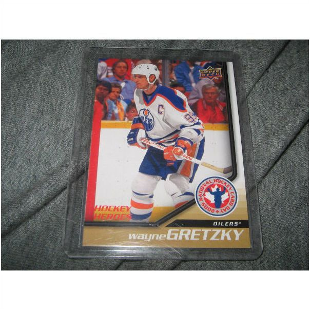 Oilers 08 09 Upper Deck Wayne Gretzky National Hockey Card Hockey Heroes Hcd11 On Ebid United States 128439478 Oilers Hockey Cards Upper Deck