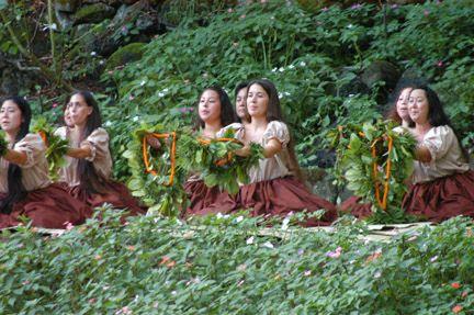 Island style commemoration #hula