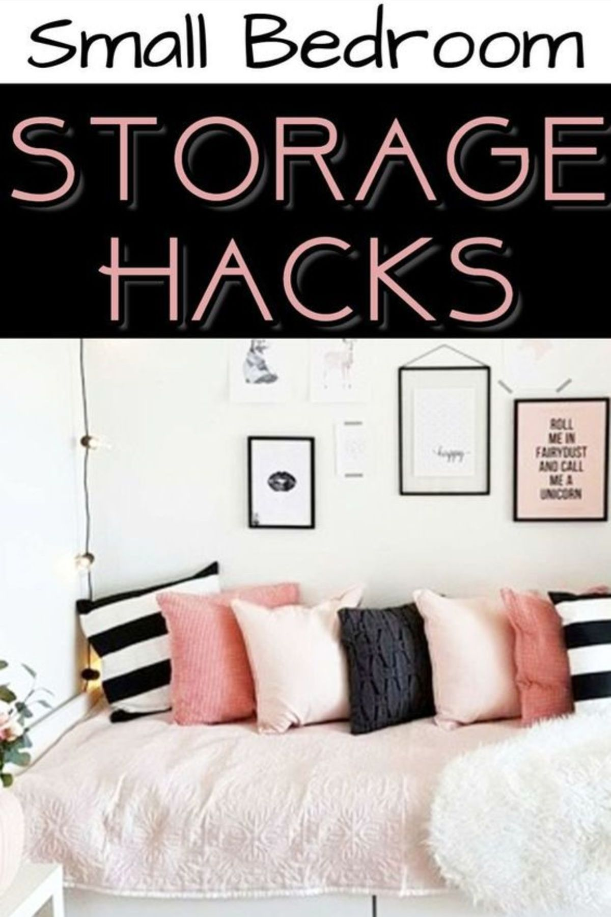 Small Bedroom Storage Hacks Clever Storage Ideas For Small Bedrooms Decluttering Your Life Small Bedroom Storage Small Space Storage Bedroom Small Space Bedroom