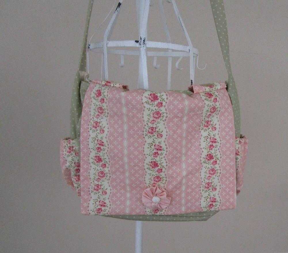 simply pretty shabby chic design diaper bag diaper bag diapers rh pinterest com