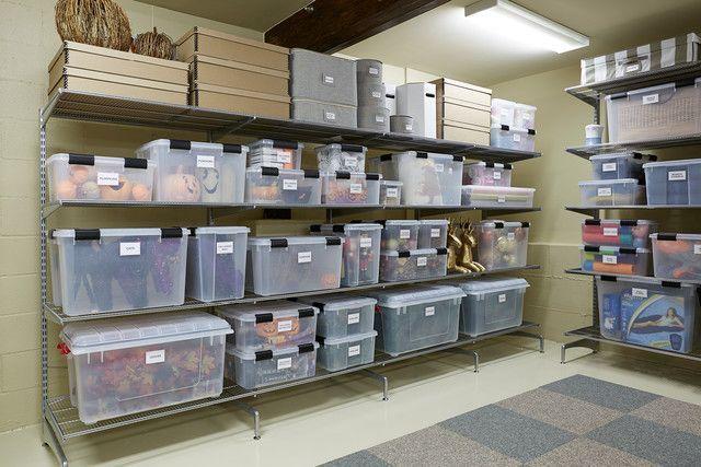 Basement Storage Ideas: Organizing A Texas-Sized Basement images